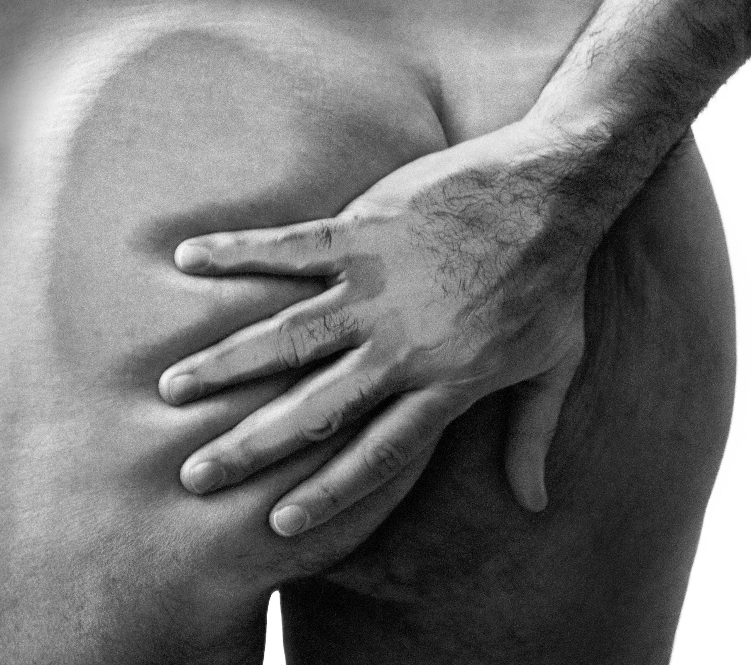 Hand And Buttocks